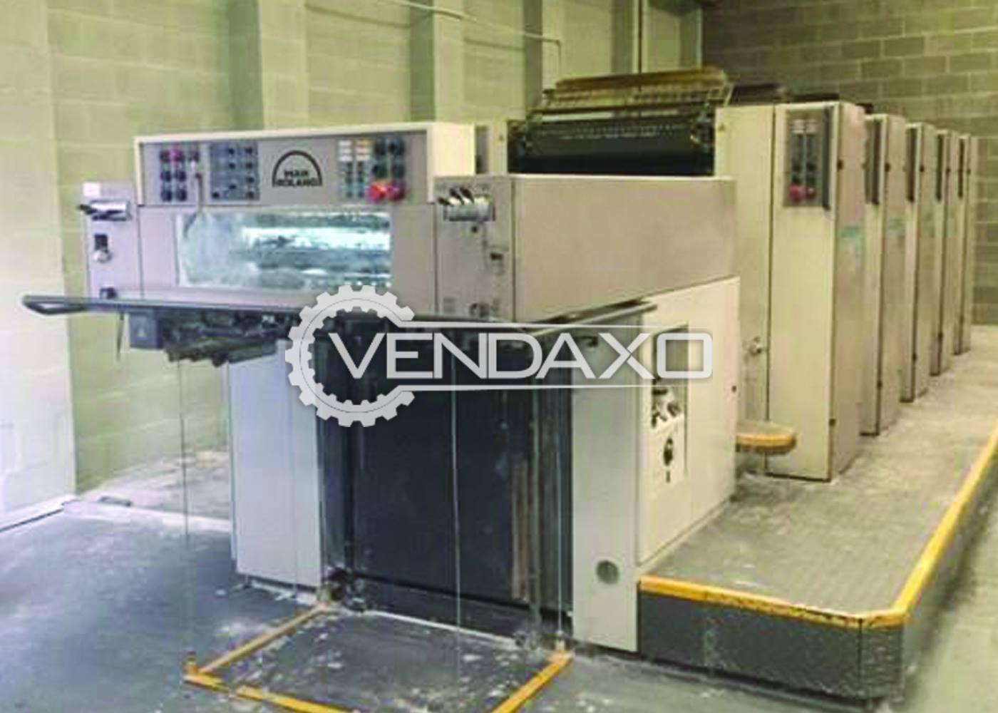 Man Roland R305P Offset Printing Machine - 5 Color