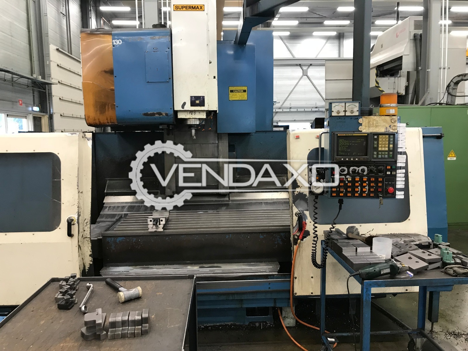 SUPERMAX V165A CNC Vertical Machining Center - Table Size - 1700 x 650 mm
