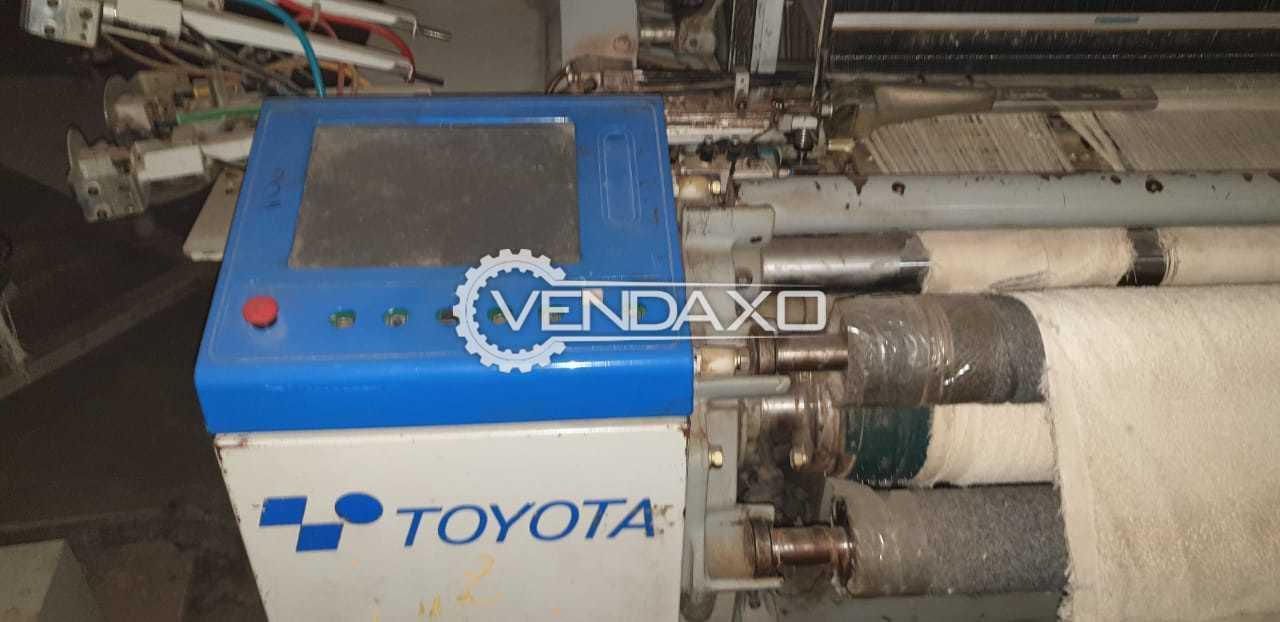 Toyota JAT-710 Airjet Rapier Loom Machine - Width - 360 CM