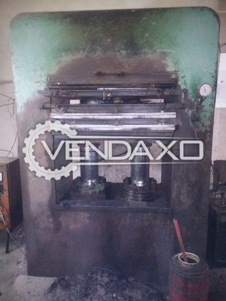 Rubber Moulding Press Machine - 24 X 36 Inch