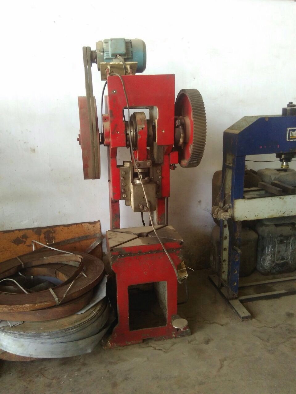Power press pujab make
