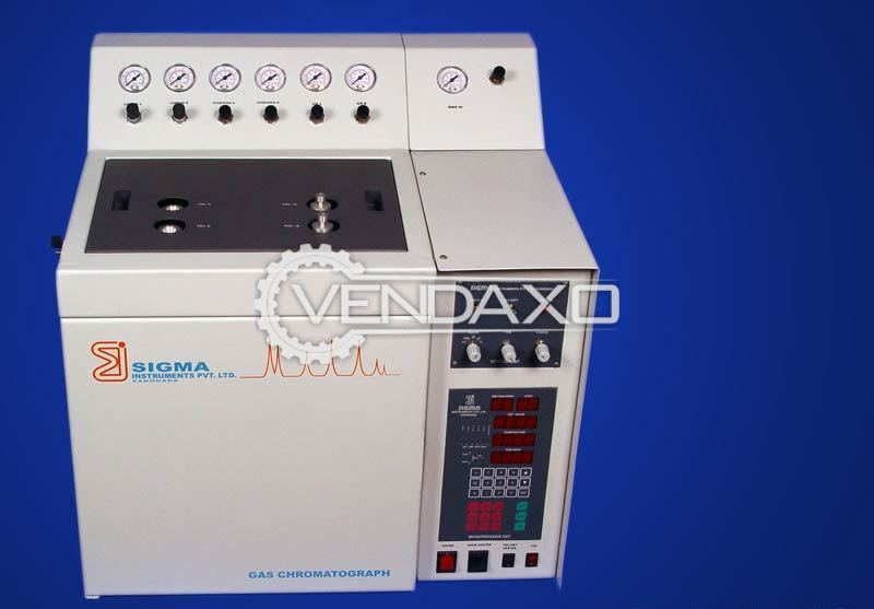 Semi-Automatic Gas chromatography Analyser (GC)