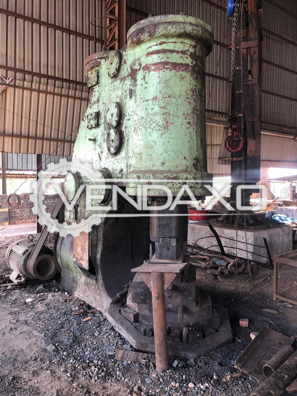 Anyang Make C41-1000 Industrial Pneumatic Forging Hammer - Motor Power - 75 KW