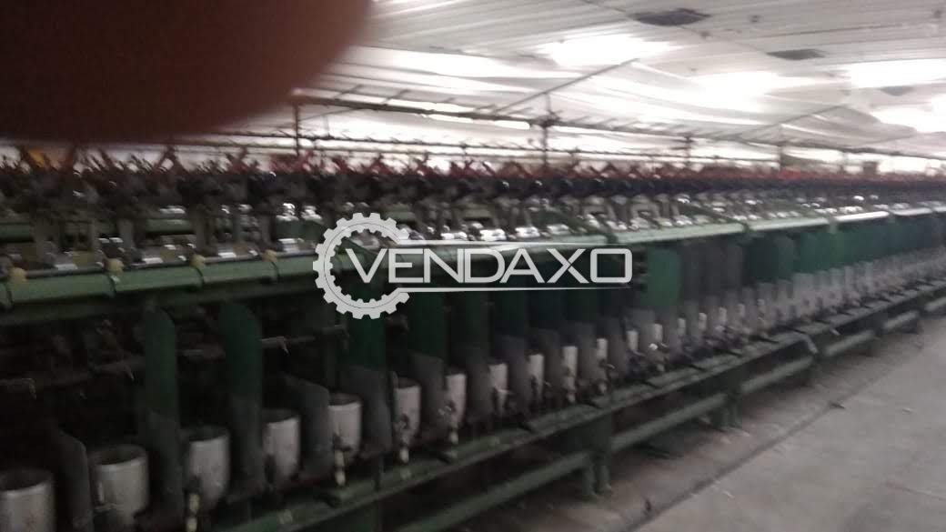 Veejay Lakshmi VJ 150 TFO Machine - 144 Spindle