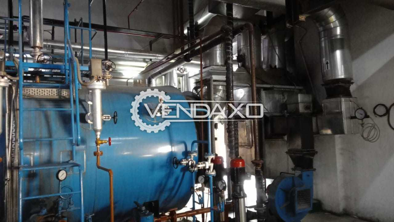 Shellmax SM-15C Smoke Tube Boiler - 1.5 Ton