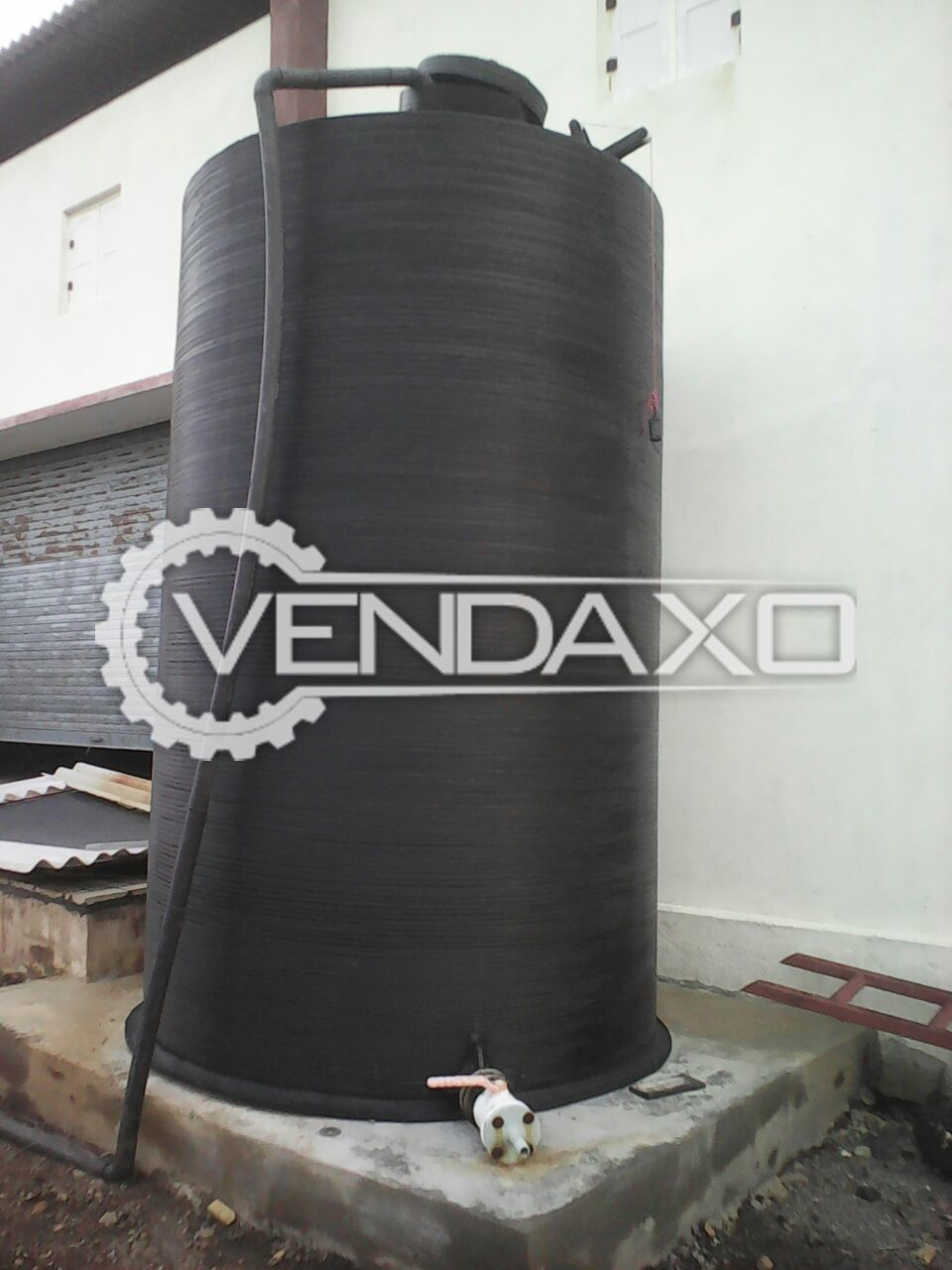 Chemical storage tank  4