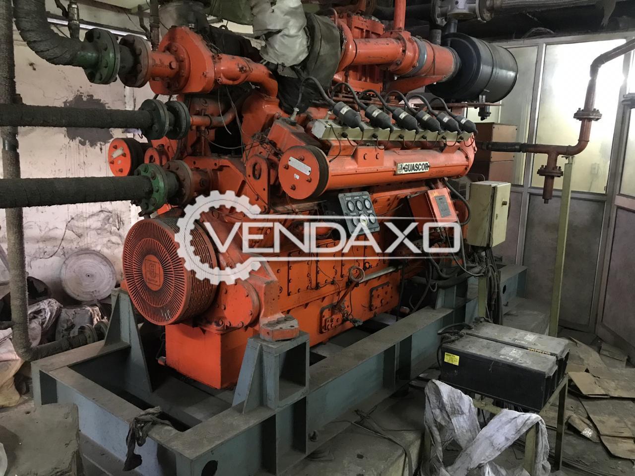 Guascor Gas Generator - 750 Kva