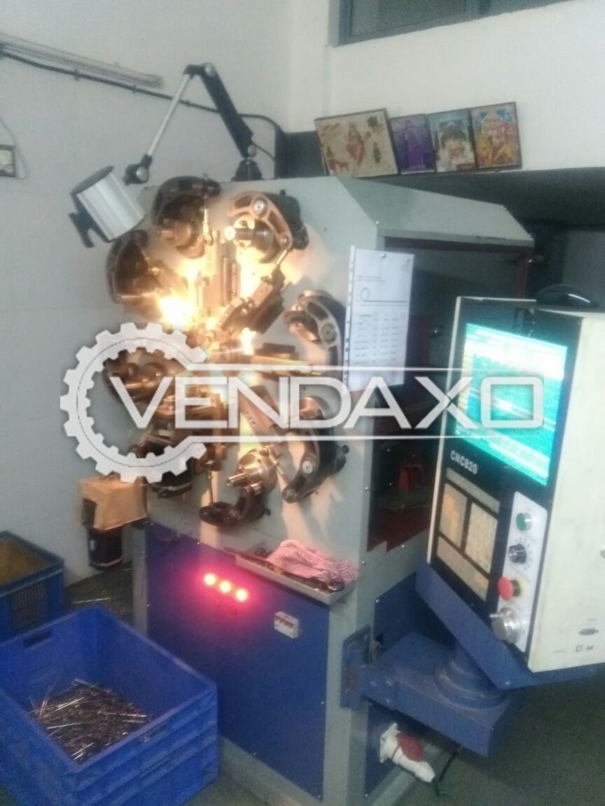 Cnc axis wire forming 2