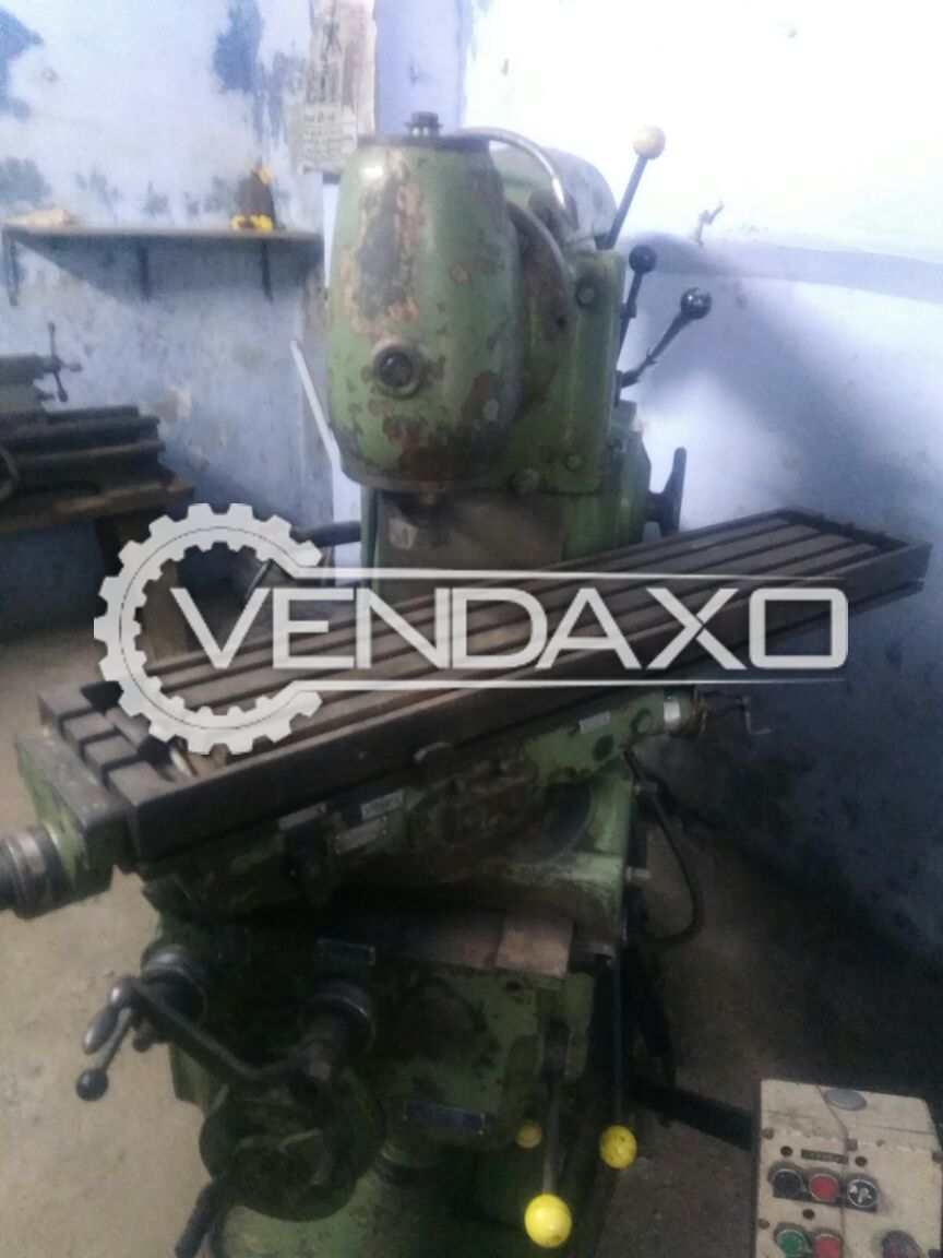 Horizontal and vertical milling machine size no 3