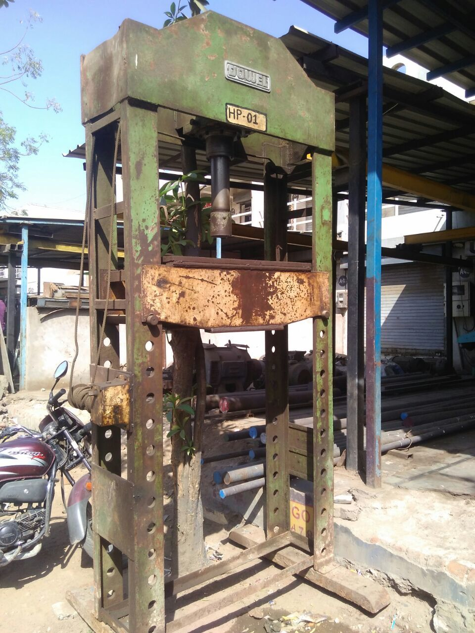 4.power press
