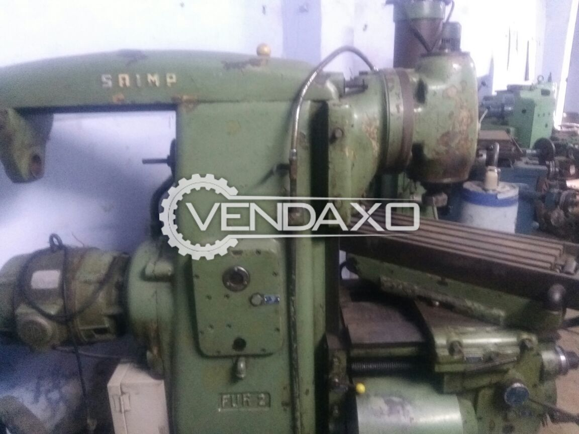 Horizontal and vertical milling machine size no 3 3