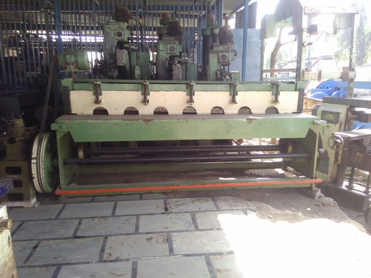 5.mechanical shearing