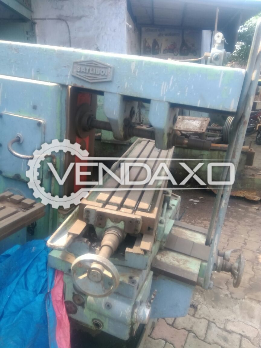 Horizontal milling machine size no. 2 2