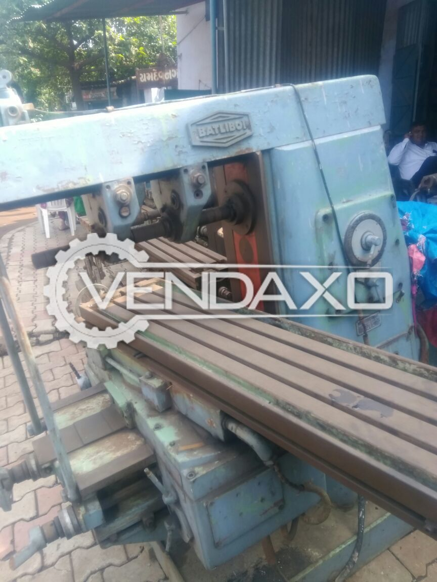 Horizontal milling machine size no. 2 3