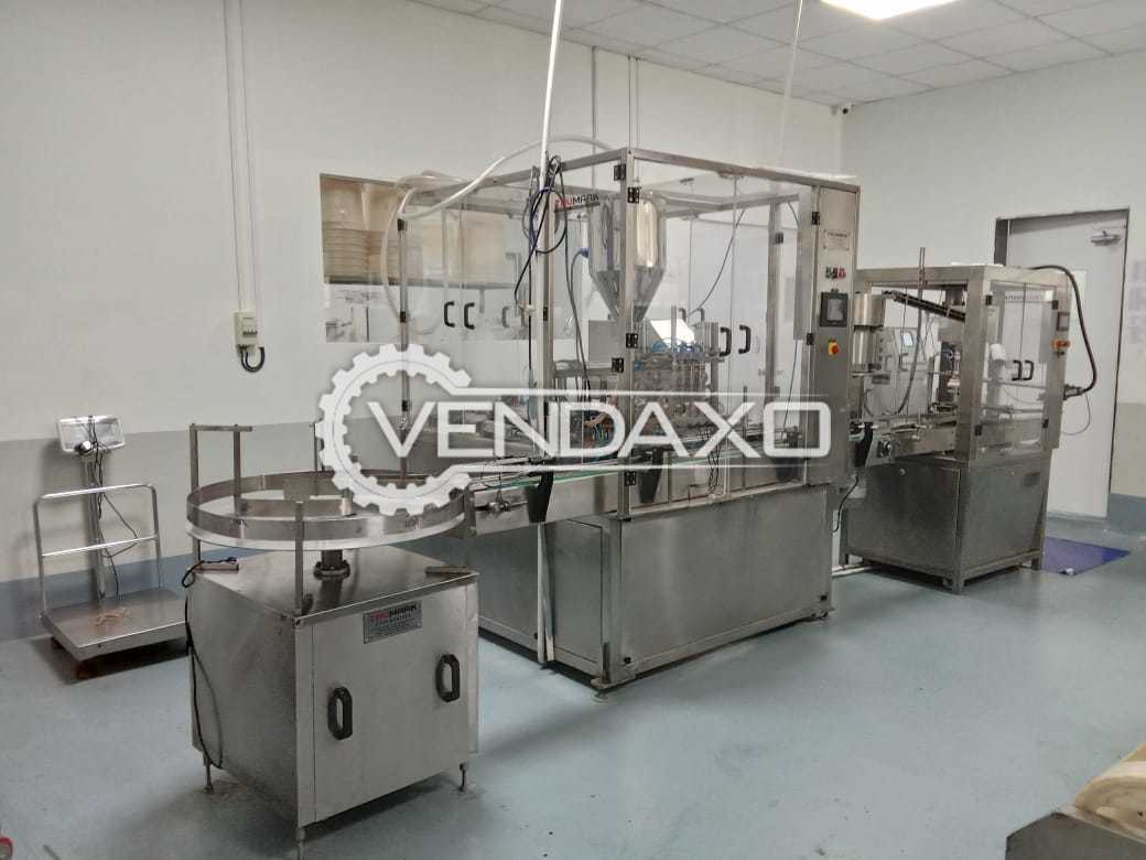 Automatic Filling and Capping  Line - 30 Bottles Per Minute With All Accessories