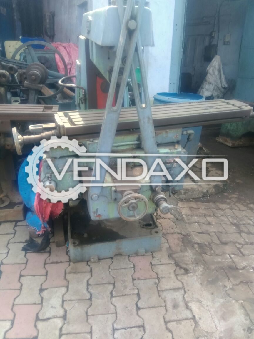 Horizontal milling machine size no. 2 4