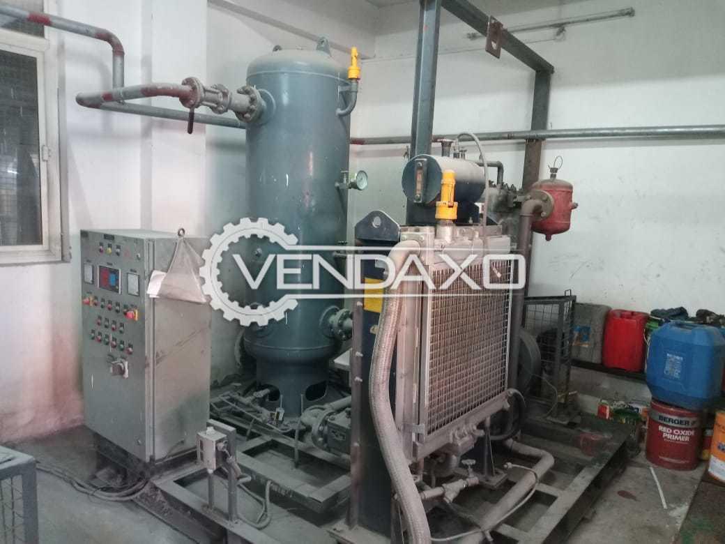 Kirloskar Reciprocating Air Compressor - 100 CFM