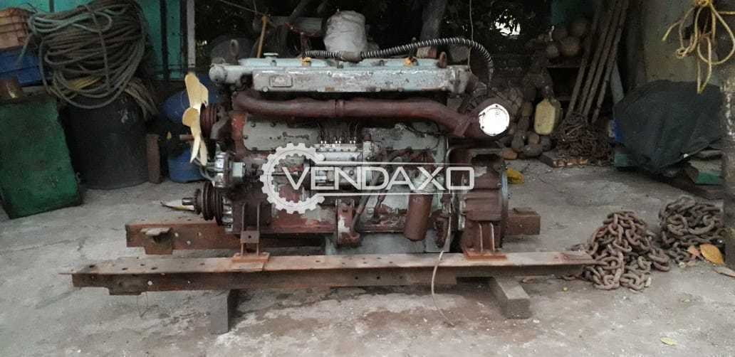 Used Ashok Leyland 690 Marine Engine - Motor - 160 HP for Sale at