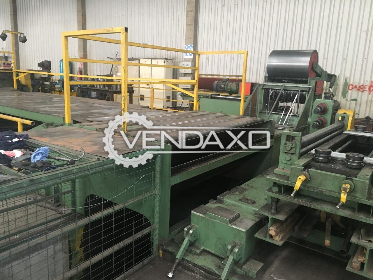 Slitting Line - 1600 x 4 mm