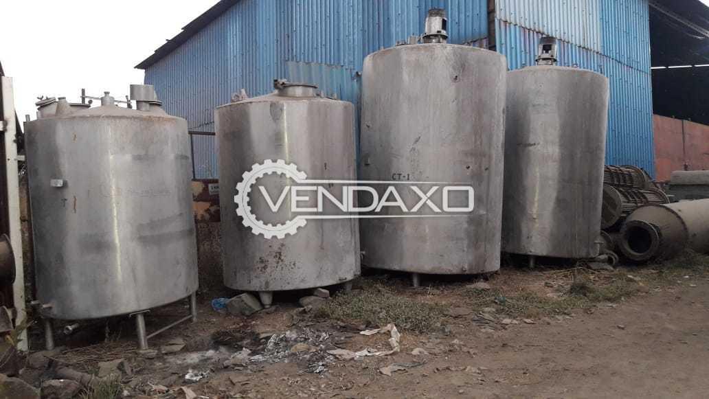 Dairy Tech Storage Tank - 3 KL & 5 KL