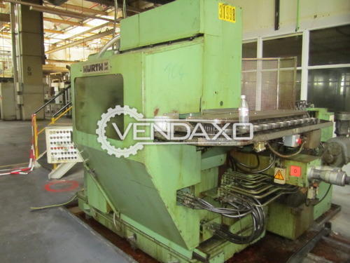 Hurth  wf10  gear hobbing machine