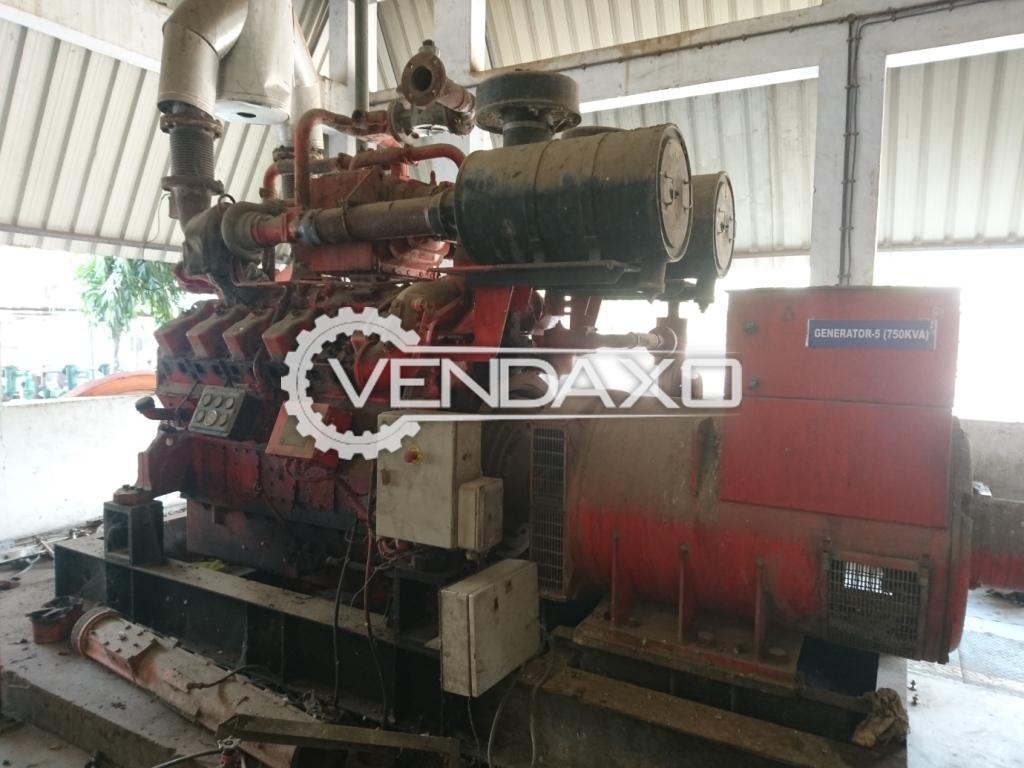 Guascor FGLD 360 L Gas Genset - 550 KW