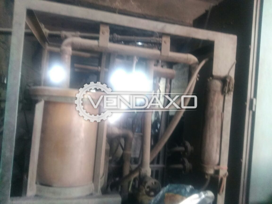 Induction heating plant 50 kg 75 kw panel 3