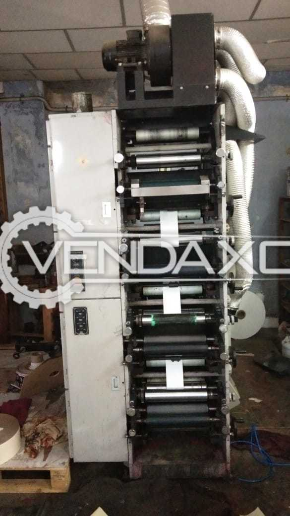 WEIGANG Flexo Label Printing Machine - Width - 320 mm