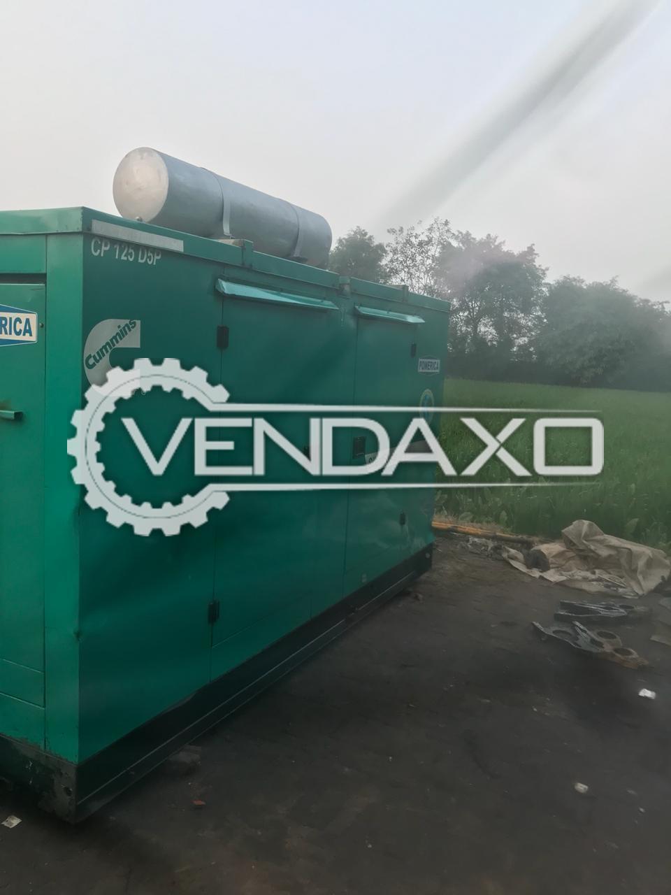 Cummins Silent Diesel Generator - 125 Kva