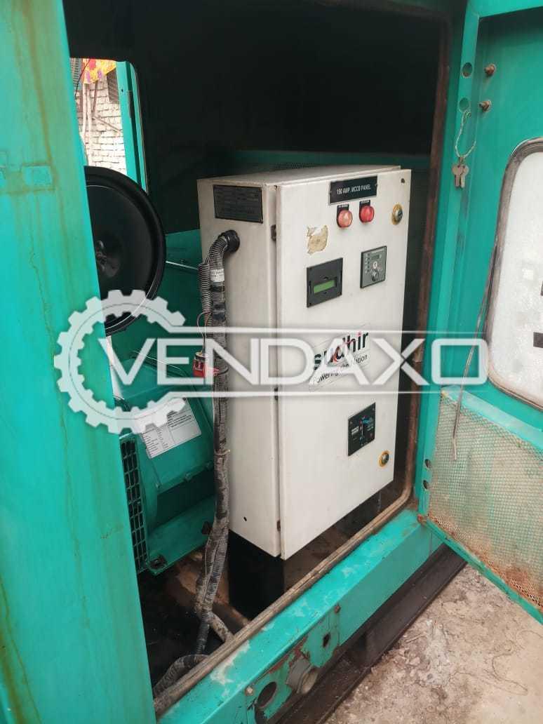 Cummins Diesel Generator - 82.5 Kva, 2014 Model