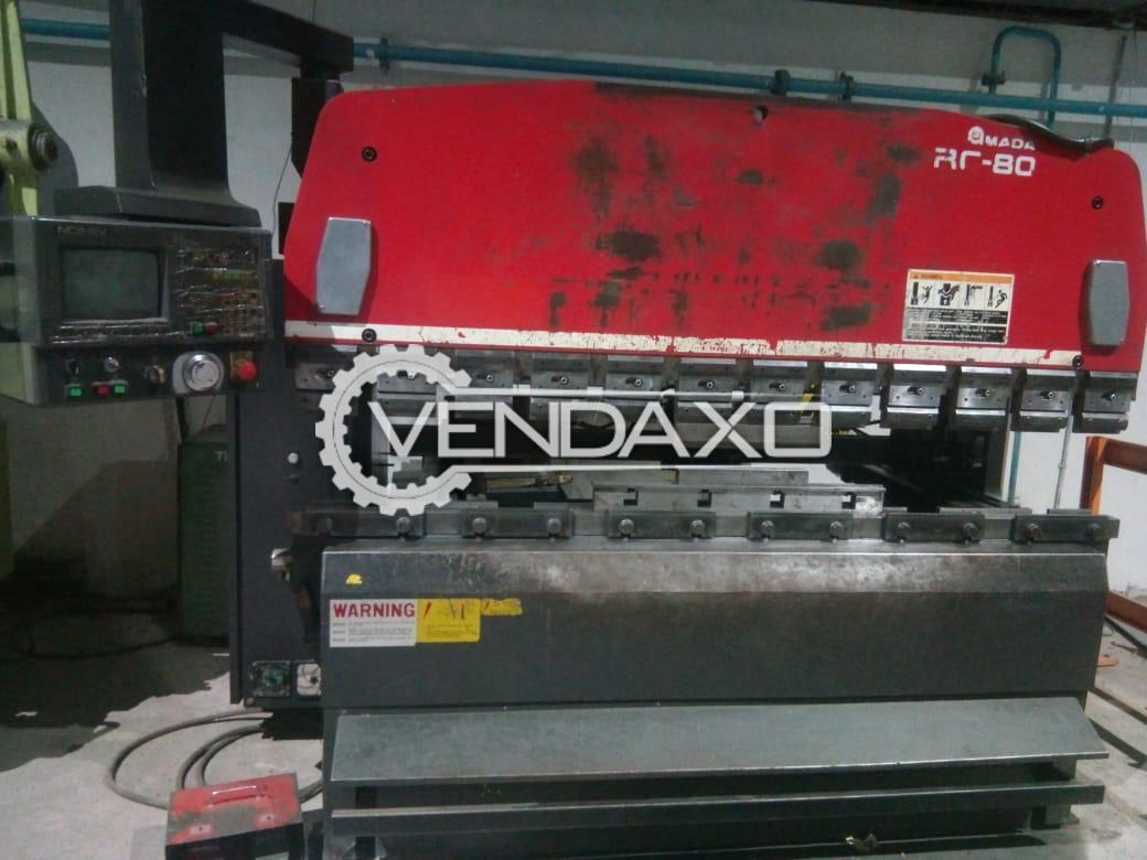 Used Amada RG 80 CNC Press Brake - 80 Ton for Sale at Best