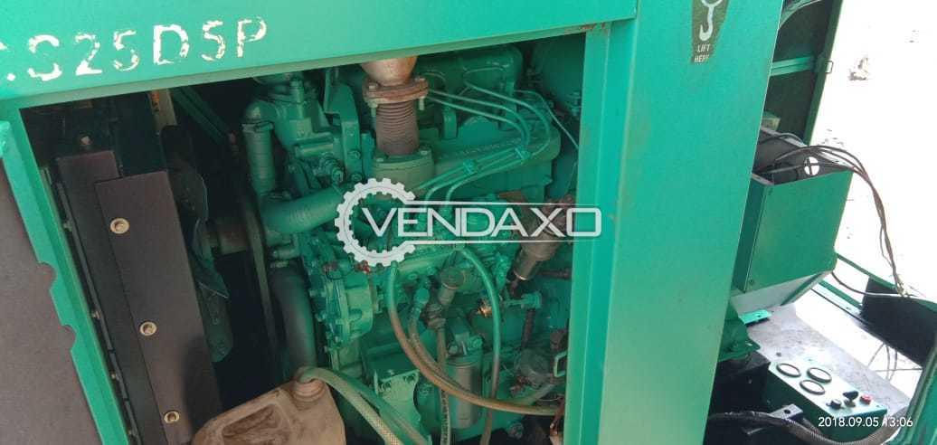 Used Cummins Diesel Generator - 30 KvA, 2018 Model for Sale at Best