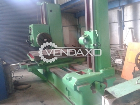 TOS H 100A Horizontal Boring Machine
