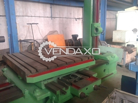 Tos horizontal boring machine 4