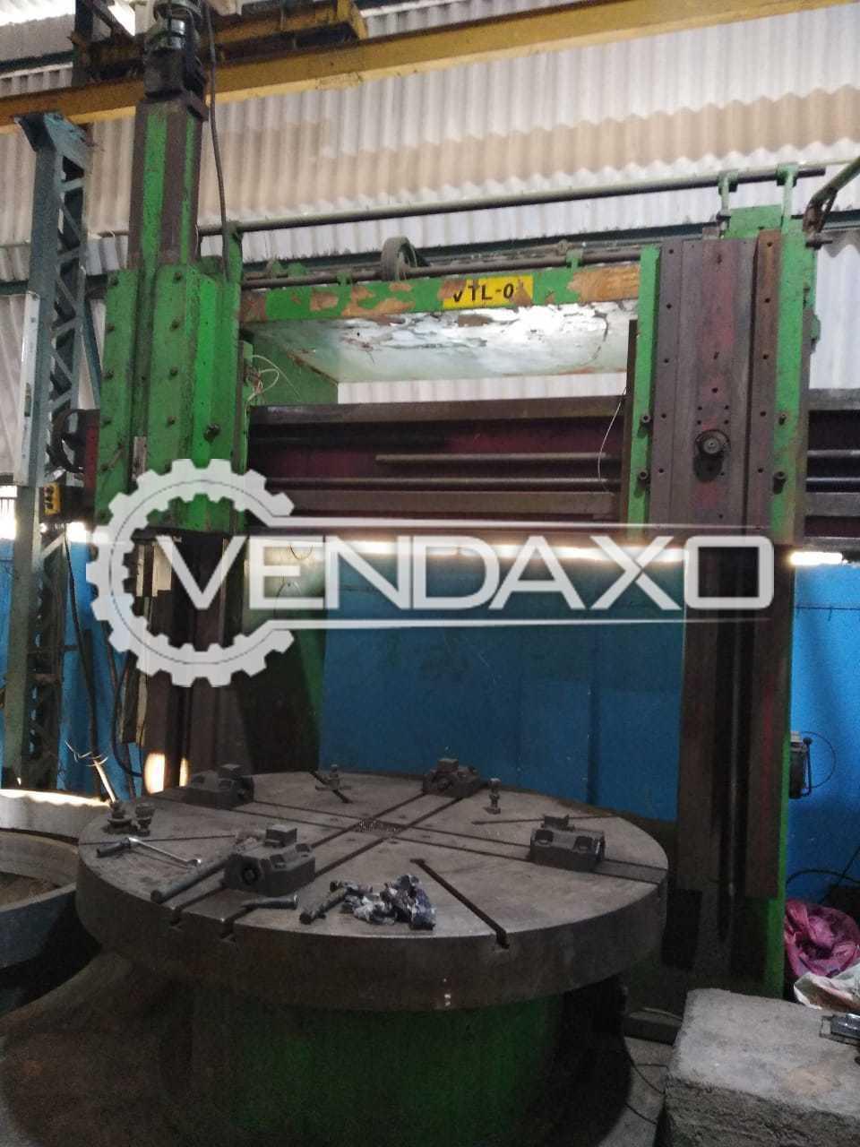 Sagar VTL  Vertical Turning Lathe Machine - chuck size : 2050 mm