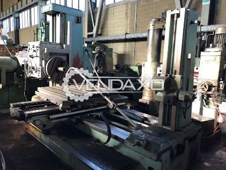 TOS W 100A Horizontal Boring Machine