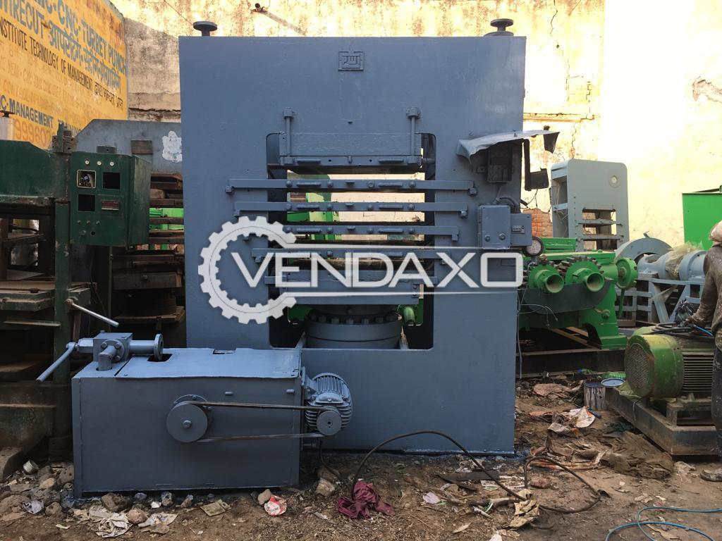 Rubber Hydraulic Press Machine - 37 X 37 Inch