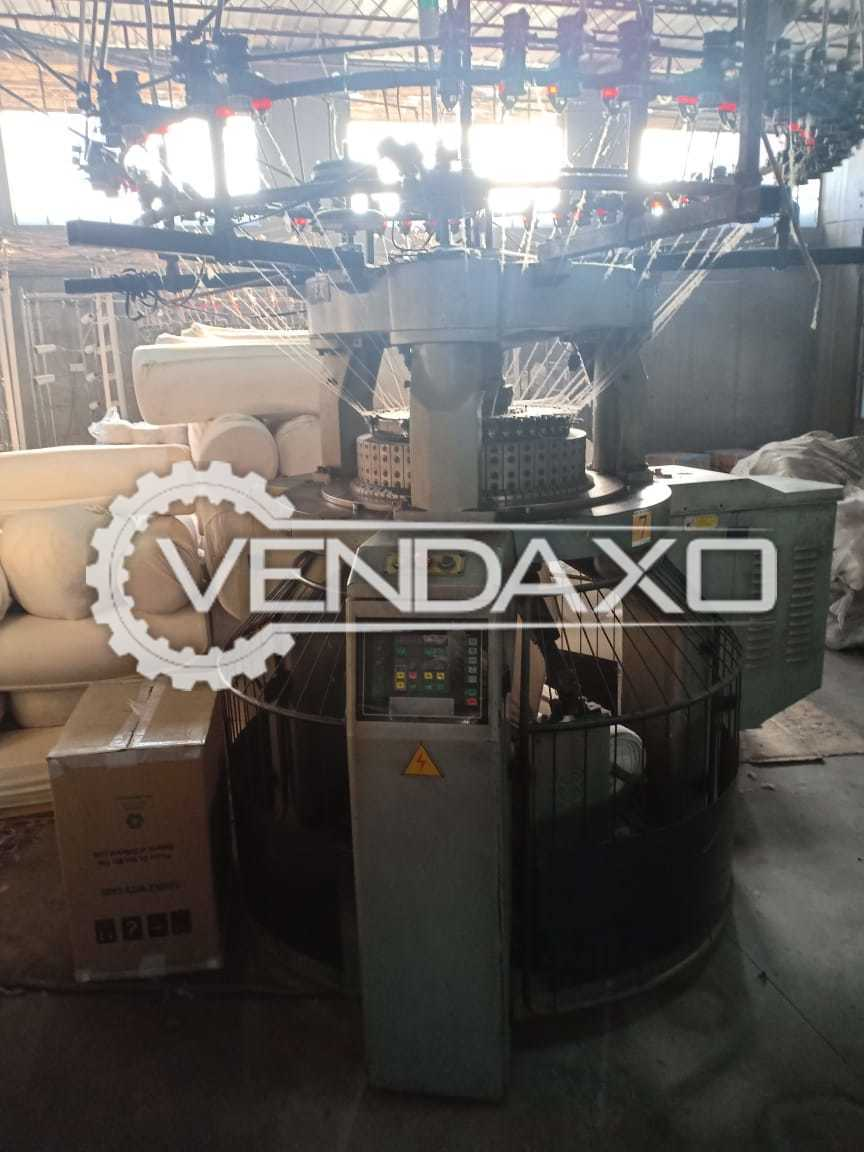 Available For Sale Rib interlock Circular Knitting Machine - Diameter 22, - Feeder 44