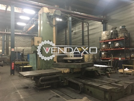 Union bft 125 horizontal boring machine