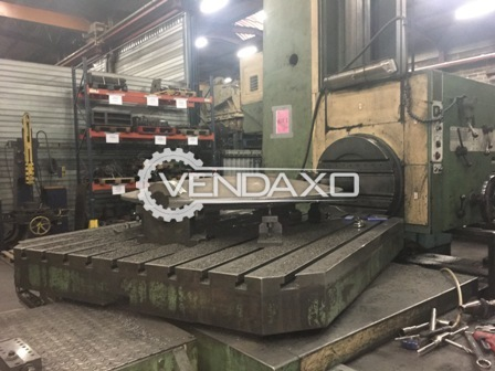 Union bft 125 horizontal boring machine 2