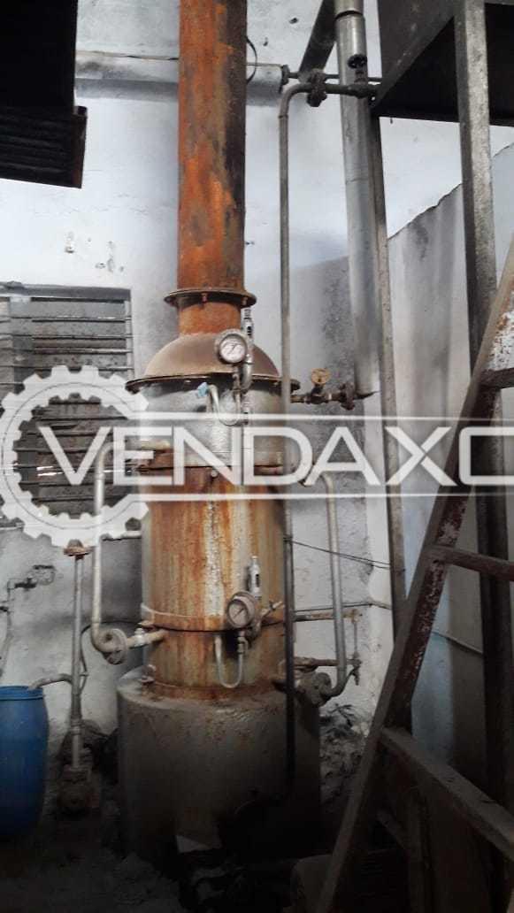 Wood Boiler With Chimni - 200 kg