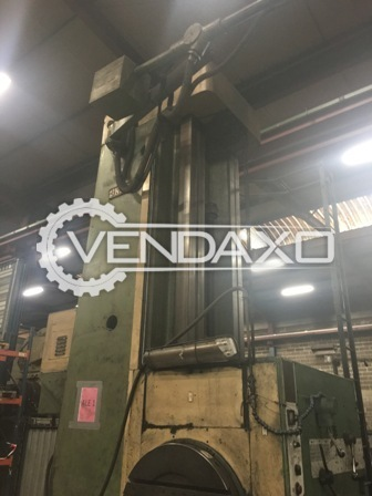 Union bft 125 horizontal boring machine 4