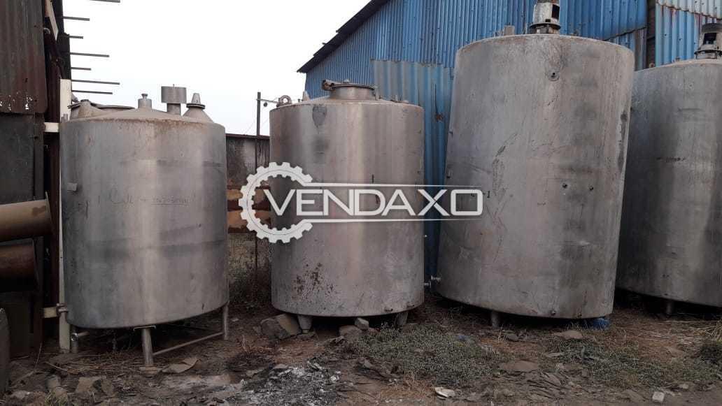 SS Milk Storage Tank - 3000 Ltr, 5000 Ltr.