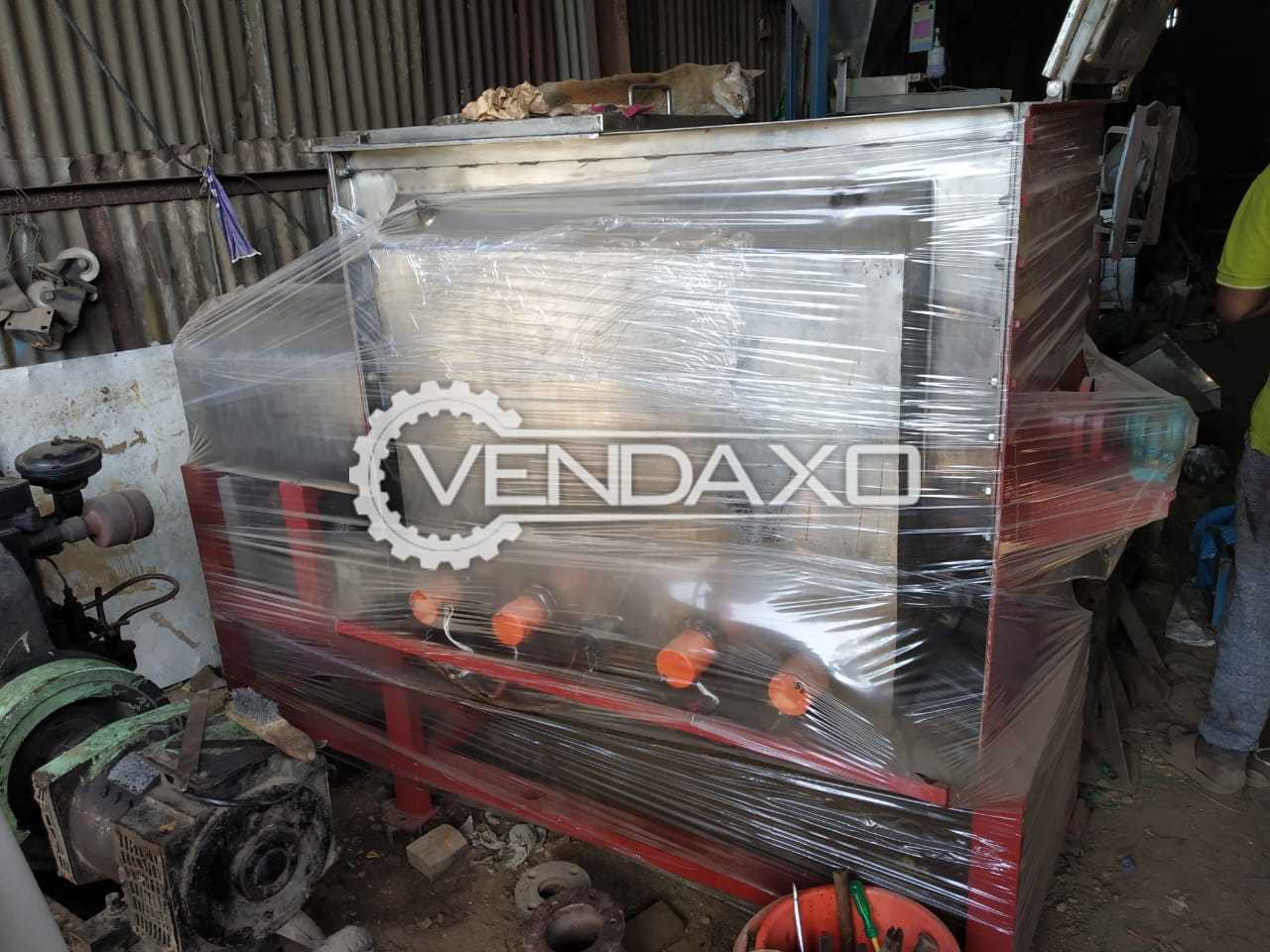 SS 316 Ribbon Blender With Gearbox, Flameproof motor and heaters - 800 Ltr.
