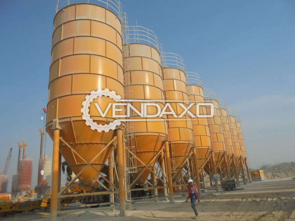 10 Set Of China Make Cement Silos - 300 Ton