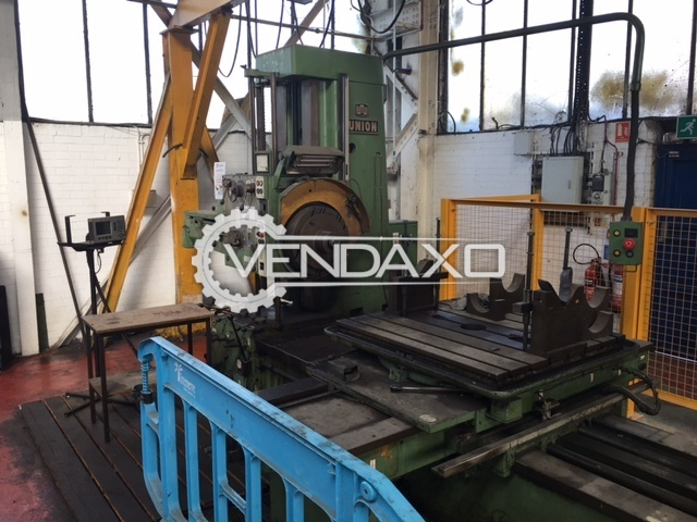 Union BFT 80/2 Horizontal Boring Machine