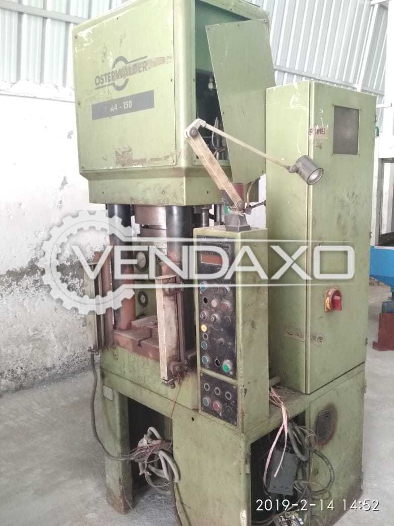 Used Swiss Hydraulic Press Machine - 150 Ton  for Sale at