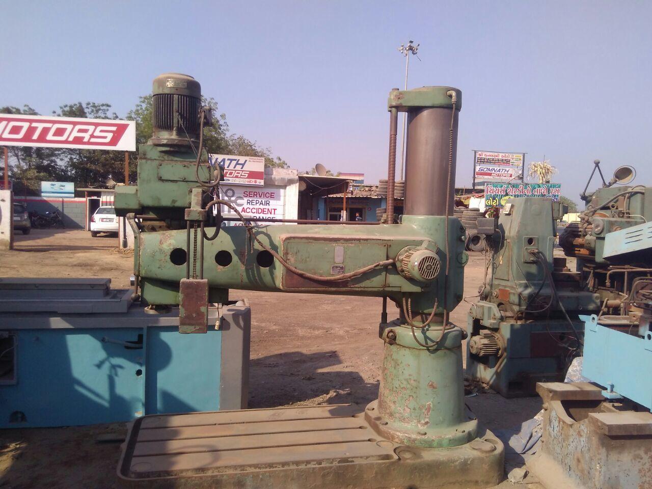 Radial drill batliboi