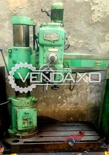 Batliboi radial drilling machine 500x500