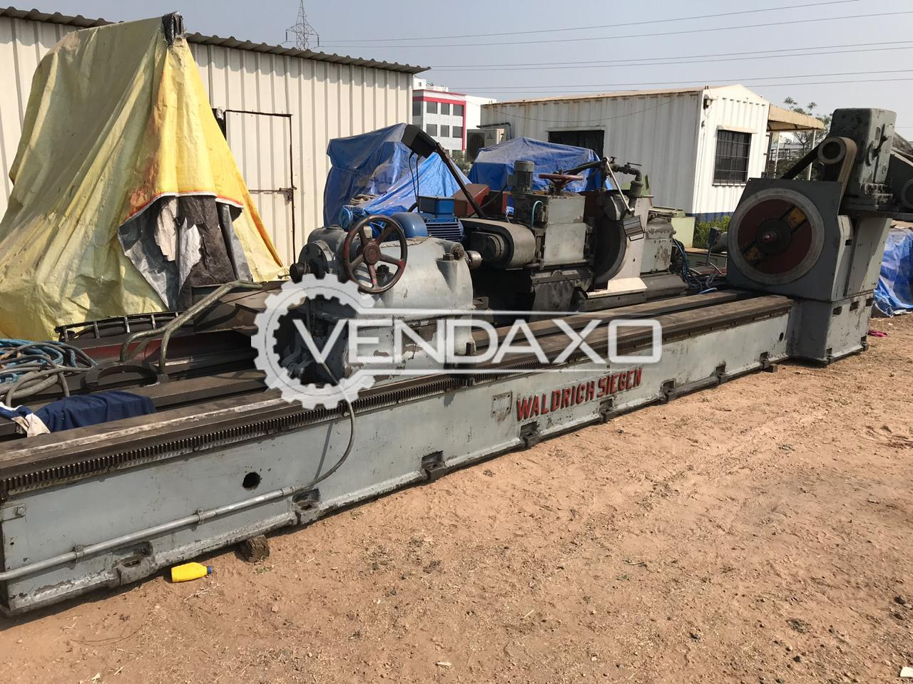 WALDRICH-SIEGEN  Cambering Machine  Available For sale - 5000 X 1000 MM